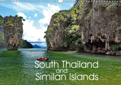 South Thailand and Similan Islands (Wall Calendar 2019 DIN A3 Landscape), FRYC JANUSZ