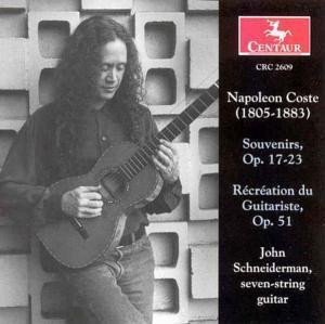 Souvenirs Op.17/+Recreation Du, John Schneiderman