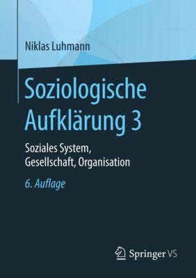 Soziologische Aufklärung 3, Niklas Luhmann