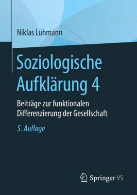 Soziologische Aufklärung 4, Niklas Luhmann