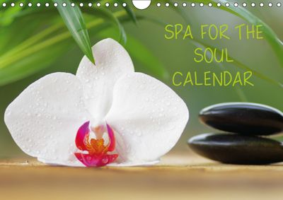 Spa for the Soul (Wall Calendar 2019 DIN A4 Landscape), Tanja Riedel