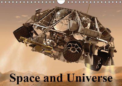 Space and Universe (Wall Calendar 2019 DIN A4 Landscape), Elisabeth Stanzer