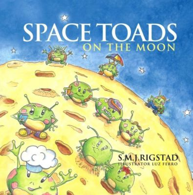 Space Toads on the Moon, Audio-CD, Rigstad S.M.J.