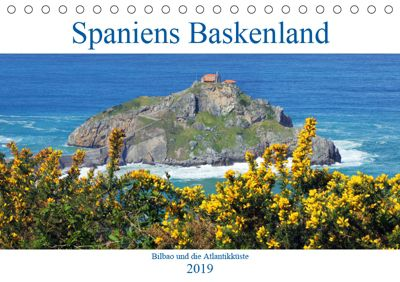 Spaniens Baskenland (Tischkalender 2019 DIN A5 quer), k.A. gro