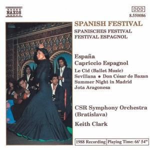 Spanisches Festival, K. Clark, Tschecho-Slowak.Rso