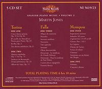 Spanish Piano Music Vol.2 - Produktdetailbild 1