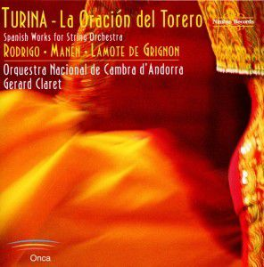 Spanish Works For String Orchestra, Claret, Orquestra Nacional Andorra