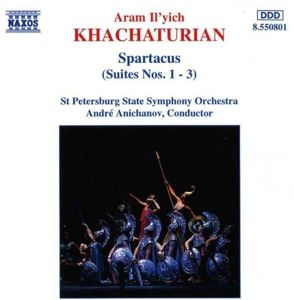 Spartacus-Suit.1-3*Naxos, Anichanov, Staatsso St.Petersb.