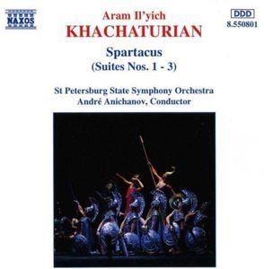 Spartacus-Suite 1+2+3, Anichanov, Staatsso St.Petersb.