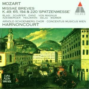 Spatzenmesse/Missa Brevis, Nikolaus Harnoncourt, Cmw
