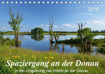 Spaziergang an der Donau (Tischkalender 2019 DIN A5 quer), Jutta Heusslein