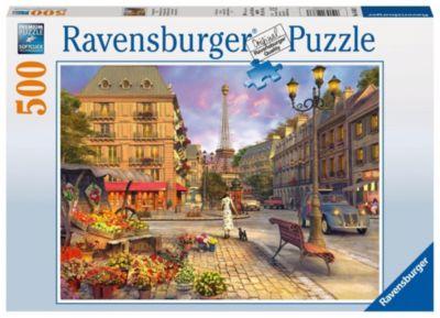 Spaziergang durch Paris. Puzzle 500 Teile