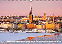 Spaziergang in Stockholm: Besuch in der Hauptstadt von Schweden (Wandkalender 2019 DIN A3 quer) - Produktdetailbild 5