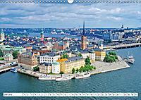 Spaziergang in Stockholm: Besuch in der Hauptstadt von Schweden (Wandkalender 2019 DIN A3 quer) - Produktdetailbild 4