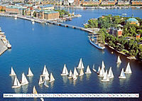 Spaziergang in Stockholm: Besuch in der Hauptstadt von Schweden (Wandkalender 2019 DIN A3 quer) - Produktdetailbild 3