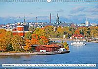 Spaziergang in Stockholm: Besuch in der Hauptstadt von Schweden (Wandkalender 2019 DIN A3 quer) - Produktdetailbild 2