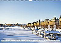 Spaziergang in Stockholm: Besuch in der Hauptstadt von Schweden (Wandkalender 2019 DIN A3 quer) - Produktdetailbild 11