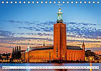 Spaziergang in Stockholm: Besuch in der Hauptstadt von Schweden (Tischkalender 2019 DIN A5 quer) - Produktdetailbild 4