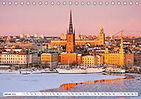 Spaziergang in Stockholm: Besuch in der Hauptstadt von Schweden (Tischkalender 2019 DIN A5 quer) - Produktdetailbild 1