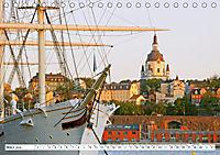 Spaziergang in Stockholm: Besuch in der Hauptstadt von Schweden (Tischkalender 2019 DIN A5 quer) - Produktdetailbild 3
