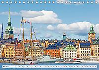 Spaziergang in Stockholm: Besuch in der Hauptstadt von Schweden (Tischkalender 2019 DIN A5 quer) - Produktdetailbild 5