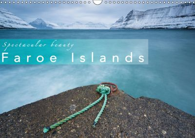 Spectacular beauty - Faroe Islands (Wall Calendar 2019 DIN A3 Landscape), Denis Feiner