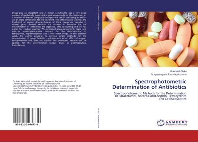 Spectrophotometric Determination of Antibiotics, Kondaiah Seku, Suryanarayana Rao Vepakomma
