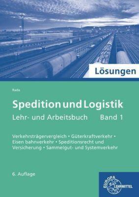 Spedition und Logistik, Lösungen, Sigrid Büscher, Maria Rada