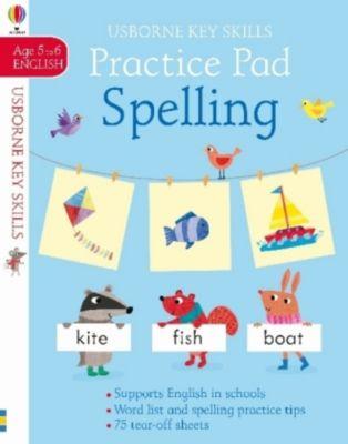 Spelling Practice Pad, Kirsteen Robson