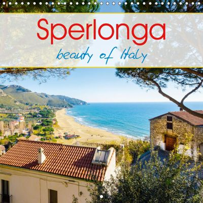 Sperlonga beauty of Italy (Wall Calendar 2019 300 × 300 mm Square), Alessandro Tortora - www.aroundthelight.com