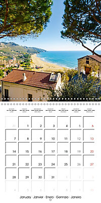 Sperlonga beauty of Italy (Wall Calendar 2019 300 × 300 mm Square) - Produktdetailbild 1