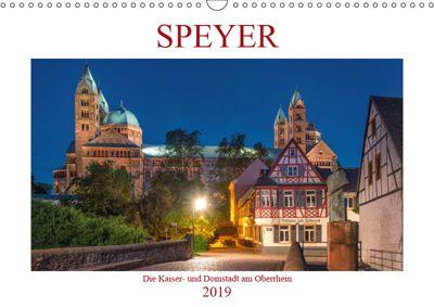 Speyer - Die Kaiser- und Domstadt am Oberrhein (Wandkalender 2019 DIN A3 quer), Thorsten Assfalg