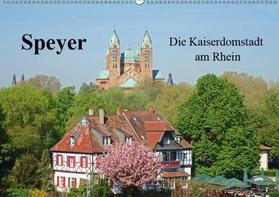 Speyer Die Kaiserdomstadt am Rhein (Wandkalender 2019 DIN A2 quer), Ilona Andersen