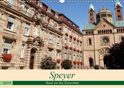 Speyer - Rund um den Kaiserdom (Wandkalender 2019 DIN A3 quer), Ilona Andersen