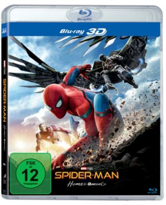 Spider-Man Homecoming 3D -2BRD