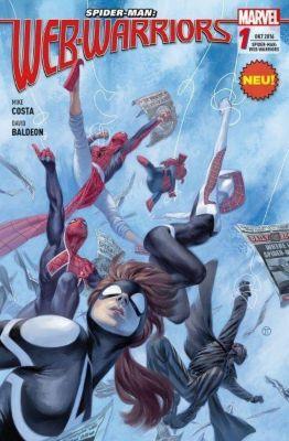 Spider-Man: Web Warriors - Wächter des Netzes, Mike Costa, David Baldeon