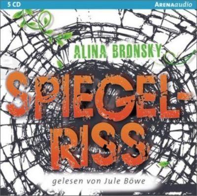 Spiegel-Trilogie Band 2: Spiegelriss (Audio-CD), Alina Bronsky