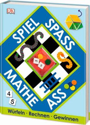 Spiel, Spaß, Mathe-Ass, m. Spielplättchen u. 2 Würfeln
