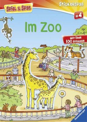 Spiel & Spaß - Stickerspaß: Im Zoo, Sam Taplin