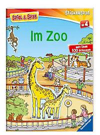 Spiel & Spaß - Stickerspaß: Im Zoo - Produktdetailbild 1