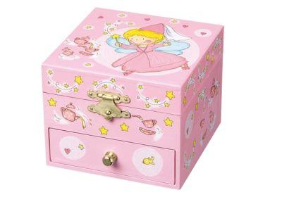Spieldosen Figur Elfen Spieldose Ninon Elfen
