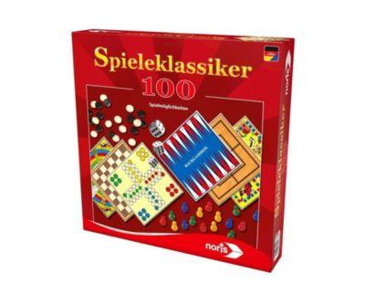Spieleklassiker - 100 Spielmöglichkeiten (Spielesammlung)