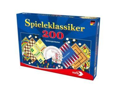 Spieleklassiker - 200 Spielmöglichkeiten (Spielesammlung)