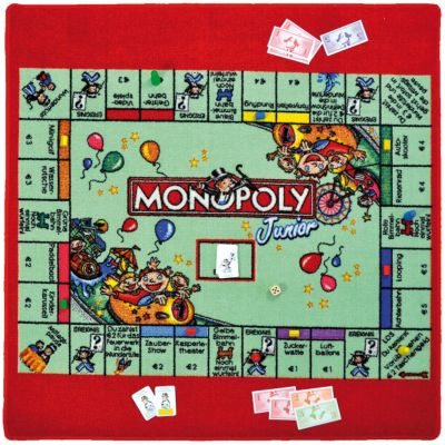 Spielteppich Monopoly Junior