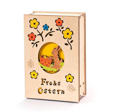 Spieluhr Ostern mit Licht