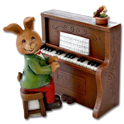 Spieluhr Piano Hase, 2-teilig