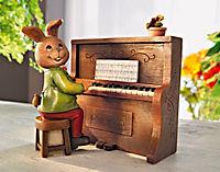 """Spieluhr """"Piano Hase"""", 2-teilig - Produktdetailbild 1"""