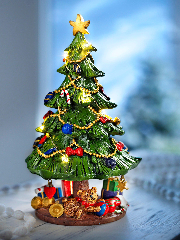 Spieluhr Weihnachtsbaum, beleuchtet bestellen | Weltbild.de