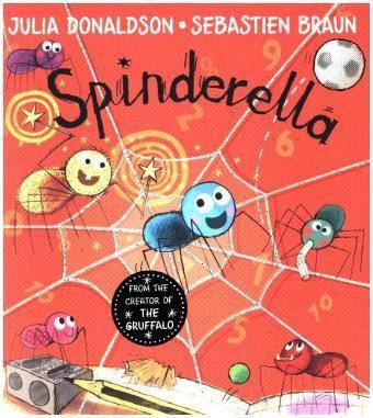 Spinderella, Julia Donaldson, Sébastien Braun