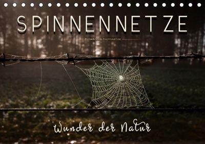 Spinnennetze - Wunder der Natur (Tischkalender 2019 DIN A5 quer), Peter Roder
